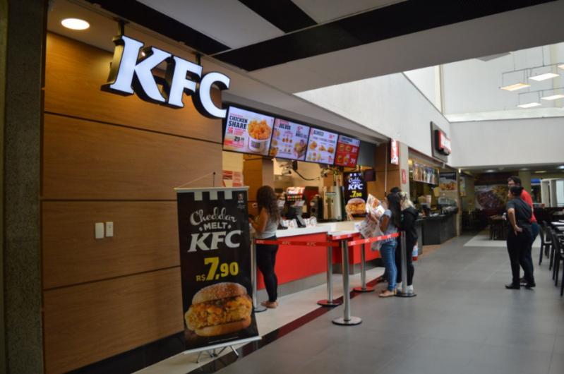 KFC shopping light