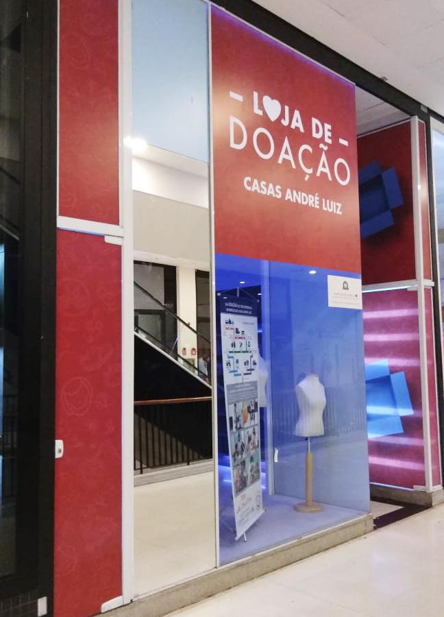 Lojas Shopping Metrô Tucuruvi traz uma nova loja de doação by Casas André Luiz em 2019
