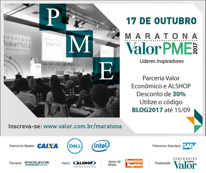 Convite Maratona Valor PME